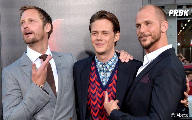 Alexander, Bill et Gustaf Skarsgard sont frères