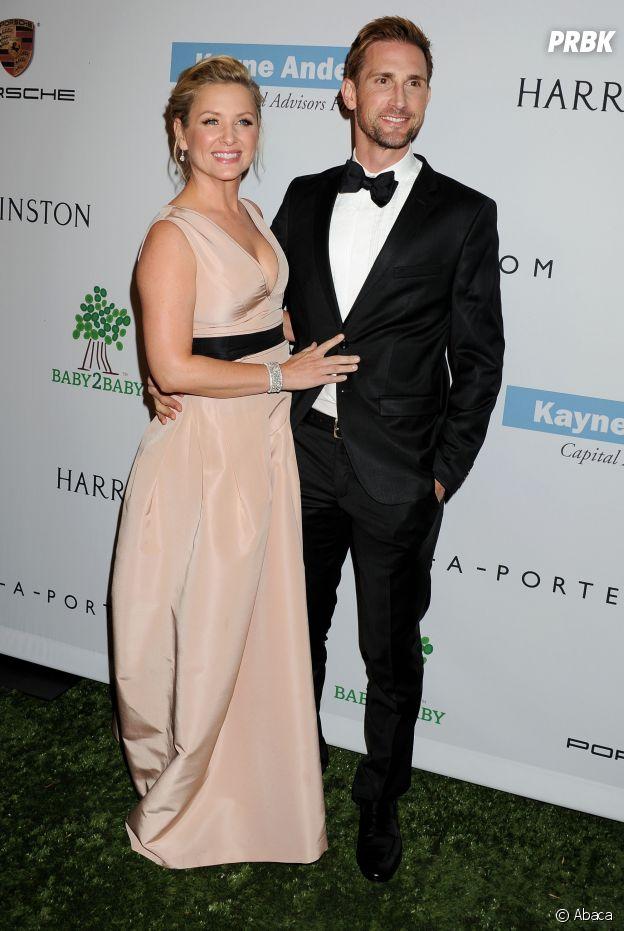 Jessica Capshaw et son mari Christopher Gavigan