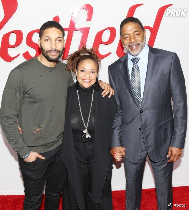 Debbie Allen, son mari et leur fils Norman