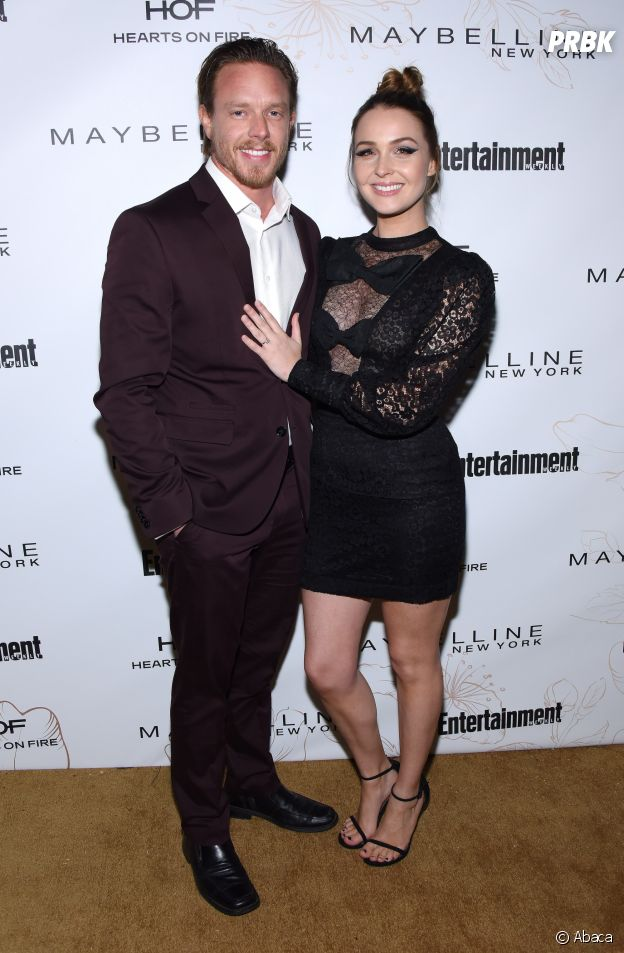 Camilla Luddington et son fiancé Matthew Alan