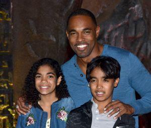 Jason George et ses jumeaux