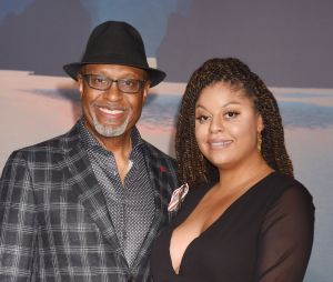 James Pickens Jr et sa fille Gavyn