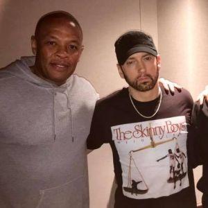 Eminem en studio avec Dr Dre et Snoop Dogg : futures collaborations en vue ?