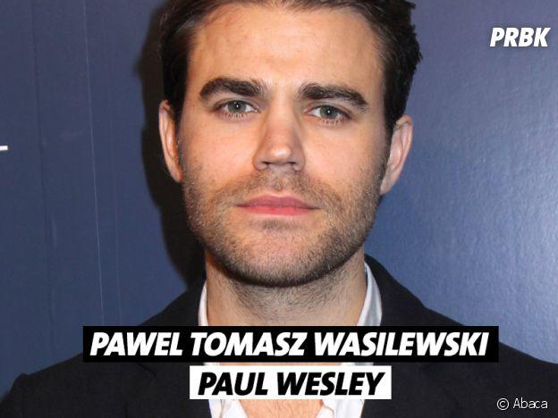 Le vrai nom de Paul Wesley