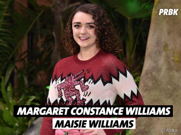 Le vrai nom de Maisie Williams