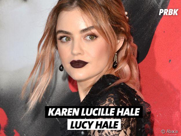 Le vrai nom de Lucy Hale