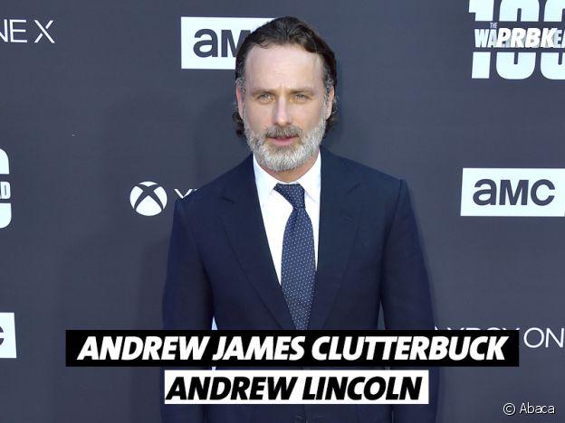 Le vrai nom de Andrew Lincoln