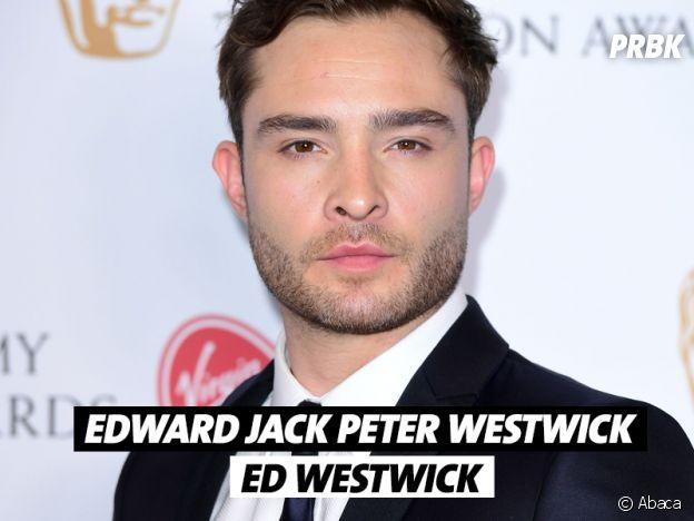 Le vrai nom de Ed Westwick