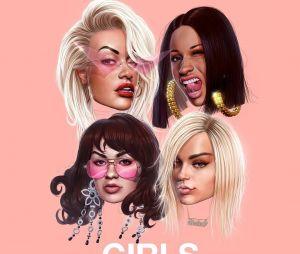"""Girls"" : Rita Ora invite Bebe Rexha, Charli XCX et Cardi B sur son nouveau single percutant"