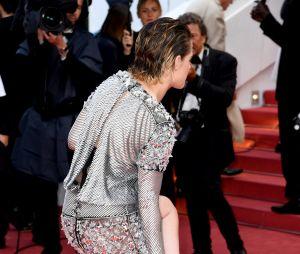 Kristen Stewart à la projection de BlacKkKlansman à Cannes le 14 mai 2018