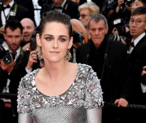 Kristen Stewart prend la pose à la projection de BlacKkKlansman à Cannes le 14 mai 2018