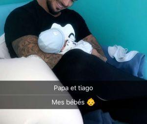 Julien Tanti et son fils Tiago