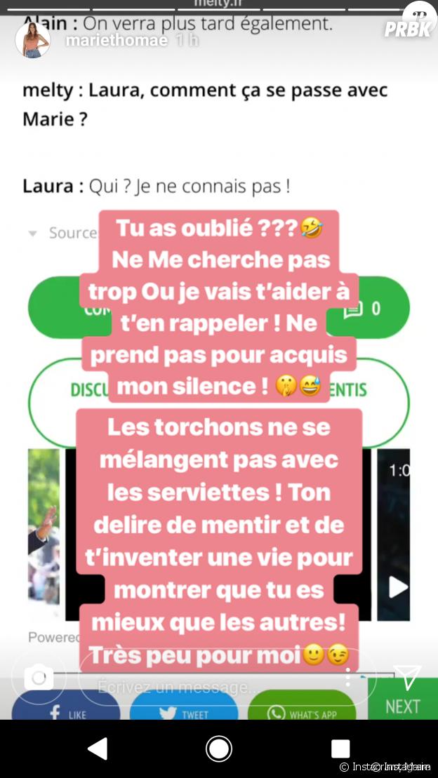 Laura (Moundir et les apprentis aventuriers 3) attaquée par son ancienne meilleure amie sur Instagram