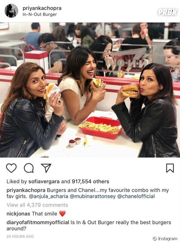 Nick Jonas en couple avec Priyanka Chopra ? Son adorable commentaire Instagram