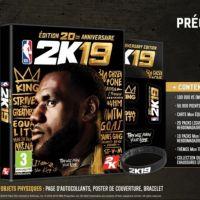 NBA 2K19 : une date de sortie confirmée, le King LeBron James honoré pour les 20 ans du jeu