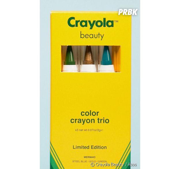 Crayola : le trio de crayons vendus 24,99€