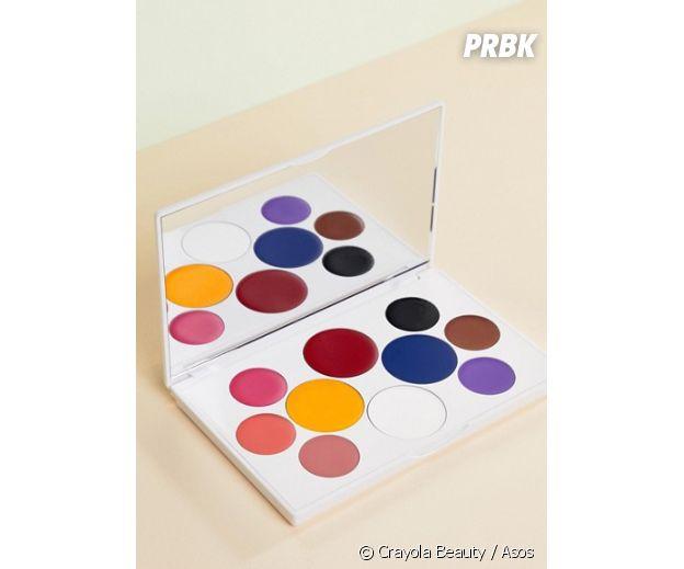 Crayola : la palette de rouge à lèvres vendue 30,99€