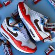 Nike Air Max 1 Kinder Bueno : Nike s'associe à Kinder pour une paire gourmande