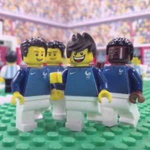 Coupe du Monde 2018 : revivez les buts des Bleus (et des autres)... en LEGO !