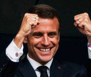 Les Bleus champions du monde : l'explosion de joie d'Emmanuel Macron fait rire les internautes