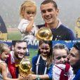 Antoine Griezmann, Hugo Lloris... les Bleus posent avec leurs enfants après leur victoire