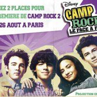 Camp Rock 2 Le Face à Face ... les dernières places à gagner