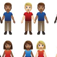 Des nouveaux emojis version couples mixtes bientôt dispos