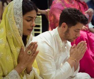 Nick Jonas et Priyanka Chopra célèbrent leurs fiançailles en Inde