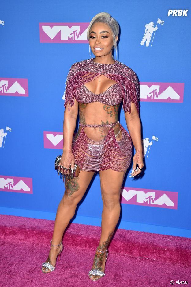 Blac Chyna sur le red carpet des MTV VMA 2018.