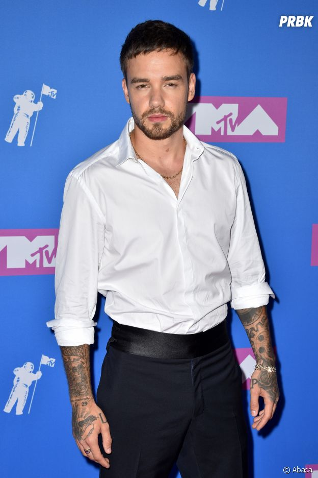 Liam Payne sur le red carpet des MTV VMA 2018.