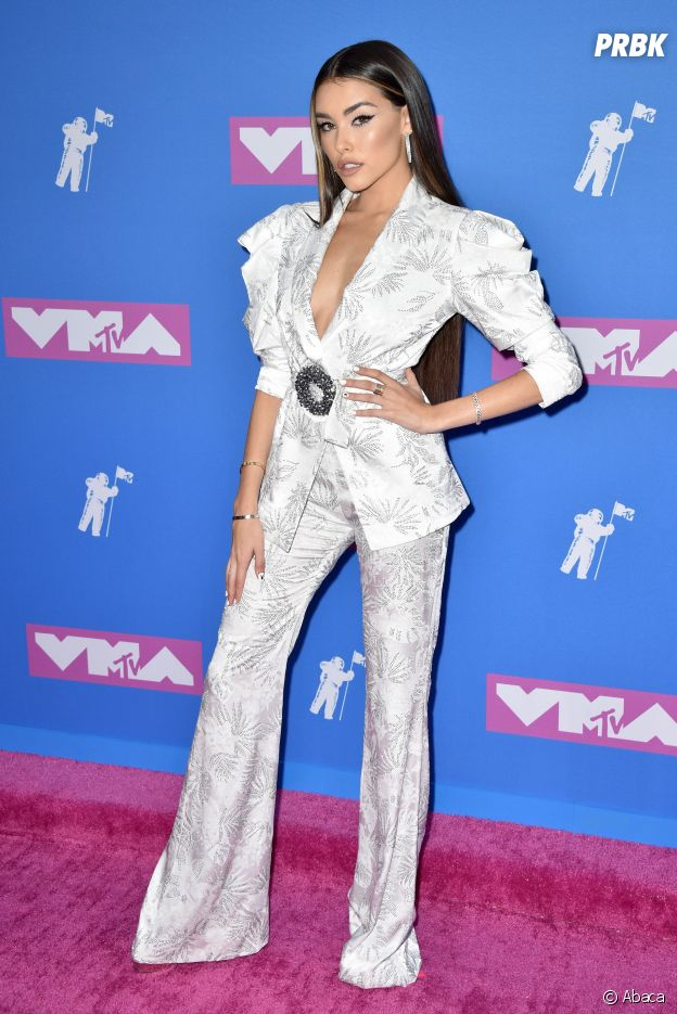 Madison Beer sur le red carpet des MTV VMA 2018.