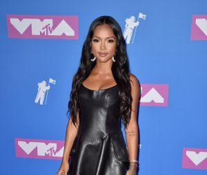 Karrueche Tran sur le red carpet des MTV VMA 2018.