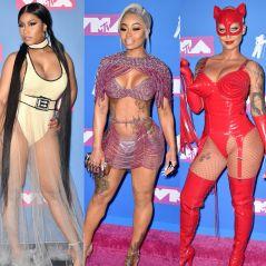 Nicki Minaj, Blac Chyna, Amber Rose... Les looks les plus sexy du red carpet des MTV VMA 2018