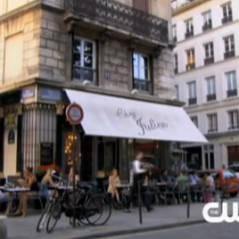 Gossip Girl Saison 4 à Paris ... Drague en terrasse et balade en Scooter (vidéo)