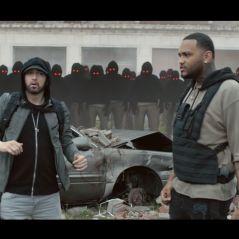 """Clip """"Lucky You"""" : Eminem règle ses comptes dans un monde post-apocalyptique"""