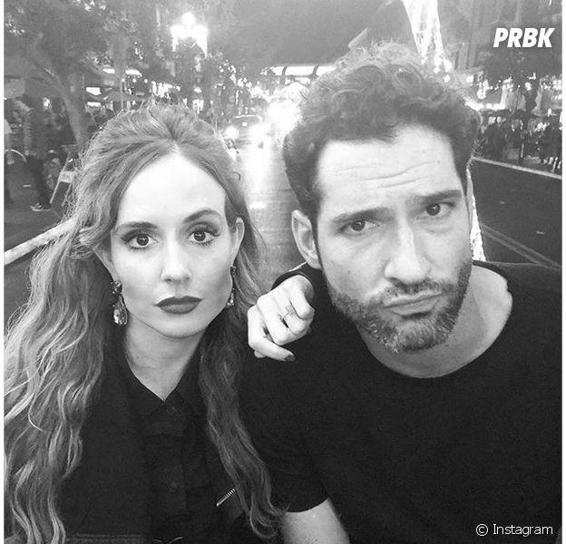Tom Ellis (Lucifer) et sa fiancée Meaghan Oppenheimer