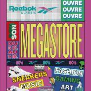 Reebok ouvre un Megastore éphémère de rêve pour les fans de rétro