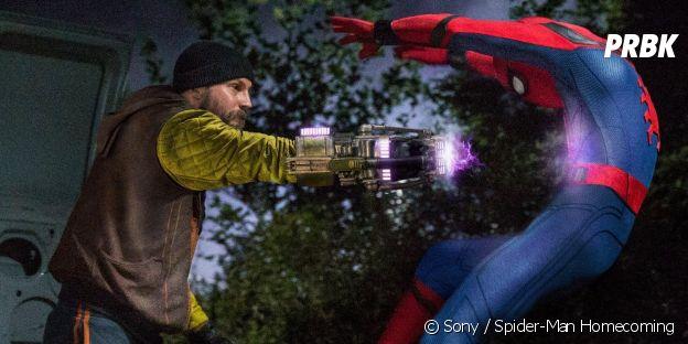 Logan Marshall-Green est le Shocker face à Spider-Man.