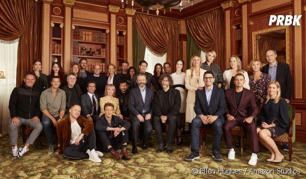 Les acteurs et producteurs présents lors de la conférence de rentrée d'Amazon Prime Video
