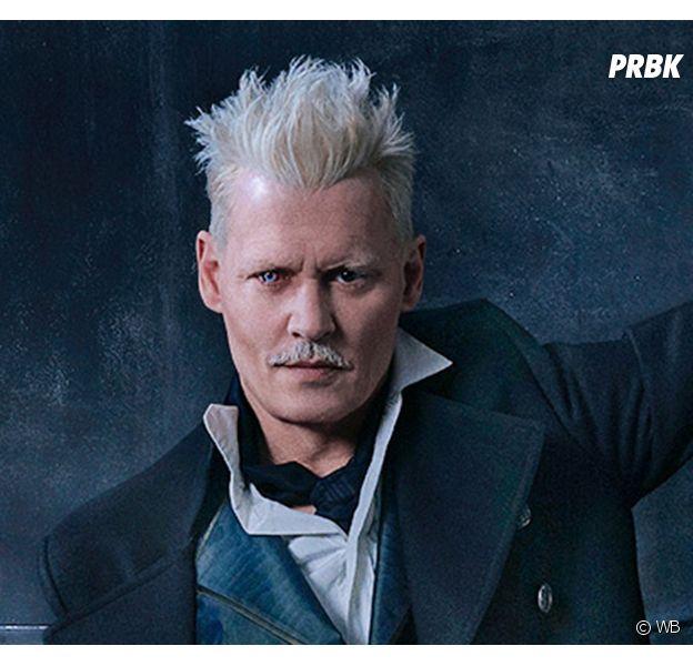 Les Animaux Fantastiques 2 : Johnny Depp confirme déjà le retour Grindelwald dans la suite
