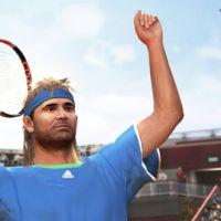 Photos ... Top Spin 4 ... deux légendes du tennis seront là