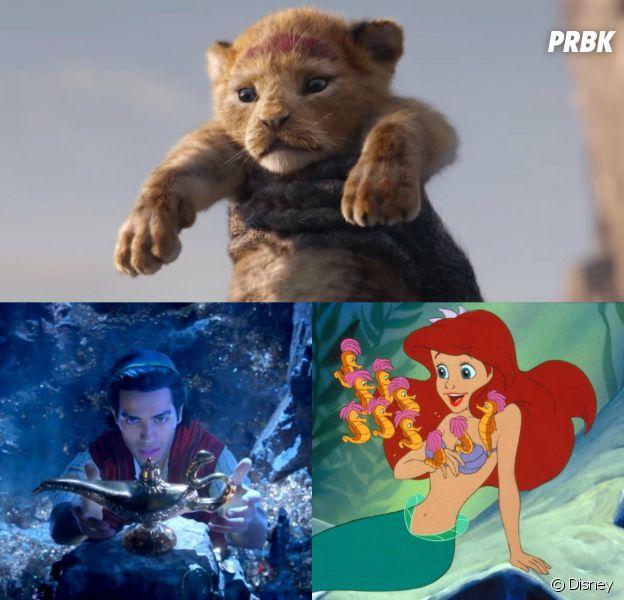 Le Roi Lion, Aladdin, La Petite sirène... quel film Disney attendez-vous le plus ?