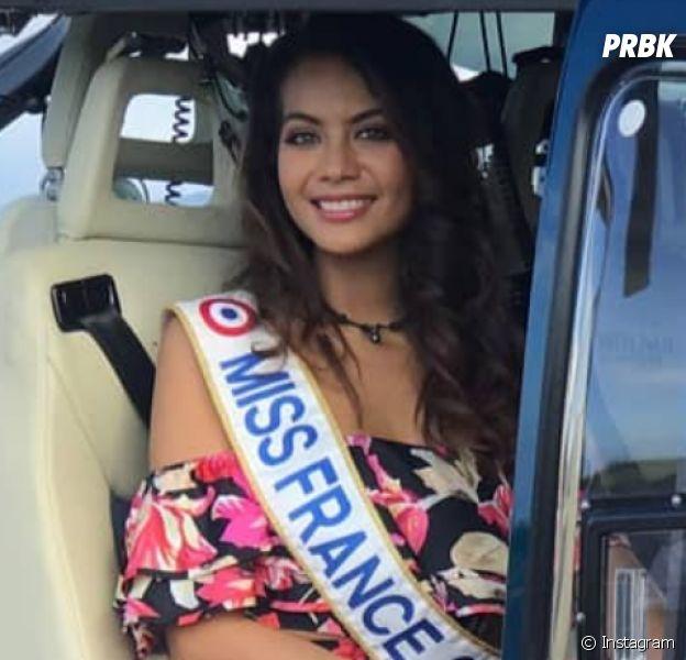 Vaimalama Chaves (Miss France 2019) de retour à Tahiti