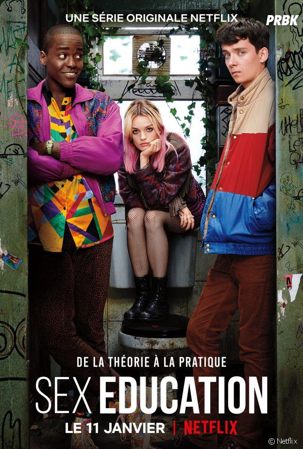 Sex Education : l'affiche de la série disponible le 11 janvier sur Netflix