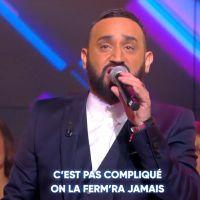 """Cyril Hanouna répond aux critiques avec sa propre version de """"La même"""" de Maître Gims et Vianney"""