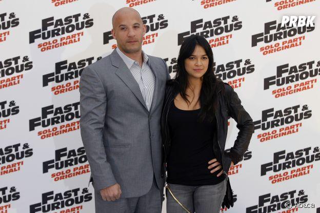 Michelle Rodriguez et Vin Diesel se sont rencontrés sur le tournage d'un film