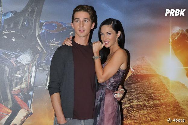 Megan Fox et Shia Labeouf se sont rencontrés sur le tournage d'un film