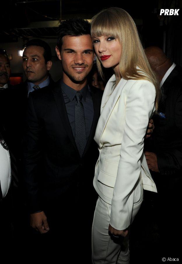 Taylor Swift et Taylor Lautner se sont rencontrés sur le tournage d'un film