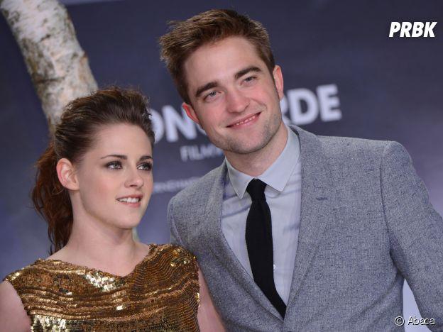 Kristen Stewart et Robert Pattinson se sont rencontrés sur le tournage d'un film