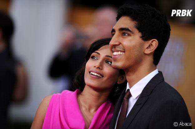 Freida Pinto et Dev Patel se sont rencontrés sur le tournage d'un film